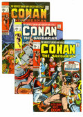 Bronze Age (1970-1979):Miscellaneous, Conan the Barbarian #2-13 Group (Marvel, 1970-71) Condition: VF. Acopy of hard-to-find issue #3 (which experienced low dist...(Total: 12 Comic Books)