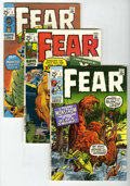 Bronze Age (1970-1979):Horror, Fear #1-6 Group (Marvel, 1970-72) Condition: Average VF. Includes#1 (VG/FN), 2, 3, 4, 5, and 6 of the reprint series. Cover...(Total: 6 Comic Books)