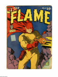 Golden Age (1938-1955):Superhero, The Flame #2 (Fox, 1940) Condition: FR. Lou Fine art. Features Wing Turner by George Tuska. Slightly brittle. Overstreet 200...