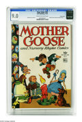 Golden Age (1938-1955):Humor, Four Color #59 Mother Goose and Nursery Rhyme Comics -- Crowley pedigree (Dell, 1944) CGC VF/NM 9.0 Cream to off-white pages.