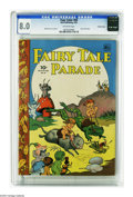 Golden Age (1938-1955):Funny Animal, Four Color #69 Fairy Tale Parade -- Crowley pedigree (Dell, 1945)CGC VF 8.0 Off-white pages. Walt Kelly cover and art. Over...