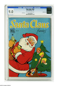 Golden Age (1938-1955):Miscellaneous, Four Color #254 Santa Claus Funnies -- Crowley pedigree (Dell, 1949) CGC VF/NM 9.0 Cream to off-white pages. Walt Kelly art....