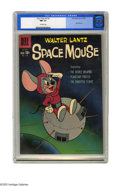 Silver Age (1956-1969):Cartoon Character, Four Color #1132 (Dell, 1960) CGC NM 9.4 Off-white pages. Featuring the Walter Lantz character Space Mouse. This is currentl...