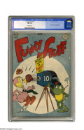 "Golden Age (1938-1955):Funny Animal, Funny Stuff #20 (DC, 1947) CGC NM 9.4 Off-white pages. Second Dodoand the Frog cover (the CGC header card labels this ""1st ..."