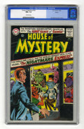Silver Age (1956-1969):Horror, House of Mystery #155 Boston pedigree (DC, 1965) CGC NM+ 9.6Off-white pages. Appearance by Human Hurricane, a Red Tornado p...