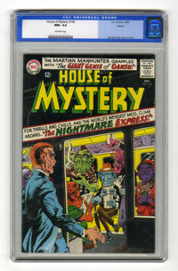 House of Mystery #155 Boston pedigree (DC, 1965) CGC NM+ 9.6 Off-white pages. Appearance by Human Hurricane, a Red Torna...