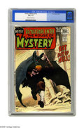 Bronze Age (1970-1979):Horror, House of Mystery #195 (DC, 1971) CGC NM+ 9.6 Off-white to whitepages. Ten-page swamp creature story by Bernie Wrightson sim...