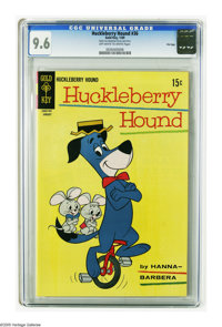 Huckleberry Hound #36 File Copy (Gold Key, 1969) CGC NM+ 9.6 Off-white to white pages. This is currently the highest gra...