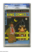 Golden Age (1938-1955):Cartoon Character, King Comics #91 Crowley Copy pedigree (David McKay Publications,1943) CGC NM+ 9.6 Off-white to white pages. Jack Burnley co...