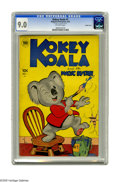 Golden Age (1938-1955):Humor, Kokey Koala #1 Double Cover (Toby Publishing, 1952) CGC VF/NM 9.0 Off-white pages. This issue features a double cover. CGC n...