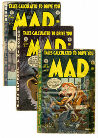 Mad Group (EC, 1953-54). Included are #5 (low distribution according to Overstreet, PR), 6 (Popeye cameo, GD), 7 (FR), a...