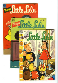 Marge's Little Lulu Box Lot (Dell/Whitman, 1950-78) Condition: Average VF. This full short box includes Marge's Little L...