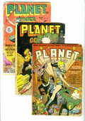Golden Age (1938-1955):Science Fiction, Planet Comics Group (Fiction House, 1942-52) Condition: AverageGD-. The series' first Lost World and Hunt Bowman stories ar...(Total: 5 Comic Books)
