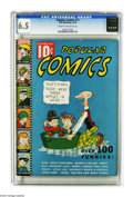 Platinum Age (1897-1937):Miscellaneous, Popular Comics #11 (Dell, 1936) CGC FN+ 6.5 Cream to off-whitepages. Overstreet 2005 FN 6.0 value = $246; VF 8.0 value = $4...