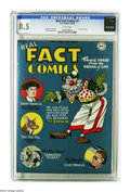 Golden Age (1938-1955):Non-Fiction, Real Fact Comics #2 (DC, 1946) CGC VF+ 8.5 White pages. Rin-Tin-Tinstory. Art by Joe Simon, Jack Kirby, and Dick Sprang. Ov...
