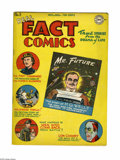 Golden Age (1938-1955):Non-Fiction, Real Fact Comics #3 (DC, 1946) Condition: FN. H. G. Wells and LonChaney stories. First DC letters column. Overstreet 2005 F...