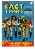 Golden Age (1938-1955):Non-Fiction, Real Fact Comics #16 (DC, 1948) Condition: VF-. Tommy Tomorrowappearance. Overstreet 2005 VF 8.0 value = $281....