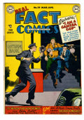 Golden Age (1938-1955):Non-Fiction, Real Fact Comics #19 (DC, 1949) Condition: VF+. Sir Arthur Conan Doyle story. Overstreet 2005 VF 8.0 value = $95; VF/NM 9.0 ...