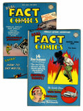 Golden Age (1938-1955):Non-Fiction, Real Fact Comics #7 and 9 Group (DC, 1947). Featuring art by Simon& Kirby and George Roussos. Includes #7 (Douglas Fairbank...(Total: 2 Comic Books)