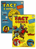 Golden Age (1938-1955):Non-Fiction, Real Fact Comics #10 and 11 Group (DC, 1947) Condition: AverageVF+. Artists include Mort Meskin, Virgil Finlay, and C. C. B...(Total: 2 Comic Books)