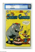 Golden Age (1938-1955):Funny Animal, Real Screen Comics #44 (DC, 1951) CGC NM 9.4 Off-white to whitepages. Overstreet 2005 NM- 9.2 value = $105. CGC census 12/0...