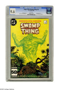 Modern Age (1980-Present):Horror, Saga of the Swamp Thing #37 (DC, 1985) CGC NM+ 9.6 White pages.First appearance of John Constantine. Story by Alan Moore. A...