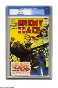 Showcase #58 Enemy Ace (DC, 1965) CGC NM 9.4 Off-white to white pages. Fifth appearance of Enemy Ace. Joe Kubert cover a...