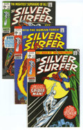 Bronze Age (1970-1979):Superhero, The Silver Surfer #14-18 Group (Marvel, 1970) Condition: Average VF. A Spider-Man crossover and battle with the Human Torch ... (Total: 5)