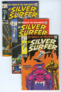 Silver Age (1956-1969):Superhero, The Silver Surfer #6-9 Group (Marvel, 1969) Condition: Average VF. Frankenstein's Monster makes an early Marvel cameo (serio... (Total: 4)
