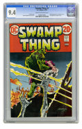 Bronze Age (1970-1979):Horror, Swamp Thing #3 (DC, 1973) CGC NM 9.4 Cream to off-white pages.First full appearance of Patchwork Man. Bernie Wrightson cove...