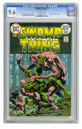 Bronze Age (1970-1979):Horror, Swamp Thing #10 (DC, 1974) CGC NM+ 9.6 Off-white pages. BernieWrightson cover and art. Last Wrightson issue. Overstreet 200...