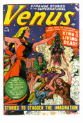 Golden Age (1938-1955):Horror, Venus #13 (Atlas, 1951) Condition: GD+. Cover by Bill Everett.Interior art by Everett and Dave Berg. Overstreet 2005 GD 2.0...
