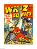 Golden Age (1938-1955):Superhero, Whiz Comics #19 (Fawcett, 1941) Condition: VG-. Captain Marvelcover by C. C. Beck. Interior art by Beck, Mac Raboy, and Cha...