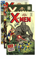 Silver Age (1956-1969):Superhero, X-Men #32-39 Group (Marvel, 1967) Condition: Average FN. This group includes: #32, 33, 34, 35 (first appearance of the Chang... (Total: 8 Comic Books)