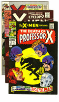 Silver Age (1956-1969):Superhero, X-Men #40-48 Group (Marvel, 1968) Condition: Average FN+. The first appearance of Frankenstein's monster at Marvel and the f... (Total: 9 Comic Books)