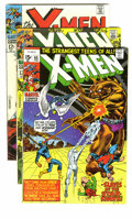 Silver Age (1956-1969):Superhero, X-Men Group (Marvel, 1968-72) Condition: Average FN/VF. Jim Steranko and Neal Adams are two of the great artists featured in... (Total: 11 Comic Books)
