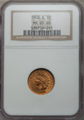 Indian Cents, 1908-S 1C MS65 Red NGC....