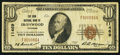 National Bank Notes:Michigan, Ironwood, MI - $10 1929 Ty. 1 The Iron NB Ch. # 11469. ...