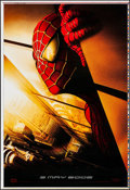 "Movie Posters:Action, Spider-Man (Columbia, 2002). Printer's Proof One Sheet (27"" X 41"")Twin Towers Style, SS. Action.. ..."