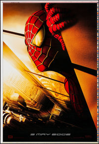 """Spider-Man (Columbia, 2002). Printer's Proof One Sheet (27"""" X 41"""") Twin Towers Style, SS. Action"""