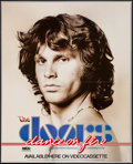 """Movie Posters:Rock and Roll, The Doors (MCA, 1985). Posters (2) (24"""" X 24"""", 22"""" X 27.25""""). Rockand Roll.. ... (Total: 2 Items)"""
