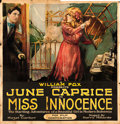 "Movie Posters:Drama, Miss Innocence (Fox, 1918). Six Sheet (81"" X 81"").. ..."