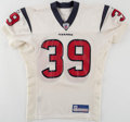 Football Collectibles:Uniforms, 2002 Houston Texans Game Worn Jersey. ...