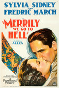 "Movie Posters:Comedy, Merrily We Go to Hell (Paramount, 1932). One Sheet (27.5"" X 41"").. ..."