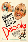 "Movie Posters:Sports, Palooka (United Artists, 1934). One Sheet (27"" X 41"").. ..."