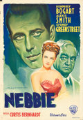 "Movie Posters:Film Noir, Conflict (Warner Brothers, 1947). First Post-War Release ItalianFoglio (27"" X 39"") Luigi Martinati Artwork.. ..."