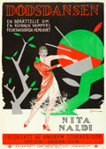 "Movie Posters:Foreign, Pratermizzi (Continental Film, 1927). Swedish One Sheet (28"" X 39"")Eric Rohman Artwork.. ..."