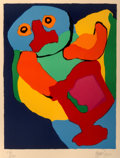 Prints:Contemporary, Karel Appel (1921-2006). Dancing Man, 1970. Lithograph incolors. 28-1/4 x 21-3/8 inches (71.8 x 54.3 cm) (sight). Ed. 7...