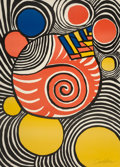 Prints:Contemporary, Alexander Calder (1898-1976). Untitled, circa 1970.Lithograph in colors. 28-1/4 x 20-1/2 inches (71.8 x 52.1 cm)(sheet...