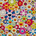 Prints:Contemporary, Takashi Murakami (Japanese, b. 1962-). Such Cute Flowers,2010. Offset lithograph in colors. 19-3/4 x 19-3/4 inches (50....